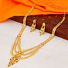 Sukkhi Blossomy 24 Carat 1 Gram Gold Jewellery Rani Haar Necklace Set for Women