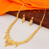 Sukkhi Trendy 24 Carat 1 Gram Gold Jewellery Rani Haar Necklace Set for Women