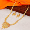 Sukkhi Designer 24 Carat 1 Gram Gold Jewellery Long Hram Necklace Set for Women