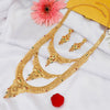 Sukkhi Graceful 24 Carat 1 Gram Gold Jewellery Rani Haar Necklace Set for Women