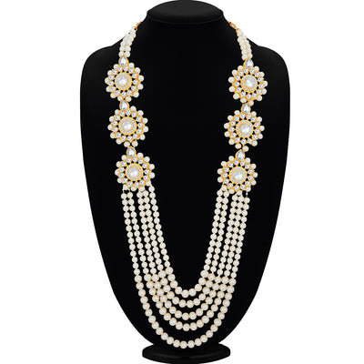 Sukkhi Trendy Gold Plated Haram Necklace Set for Women