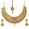 Sukkhi Elegant Gold Plated Choker Neckalce Set for Women