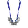 Sukkhi Beguiling Oxidised Silk Thread Long Haram Necklace for Women
