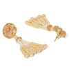 Sukkhi Modern Gold Plated Pearl String Neckalce Set for Women