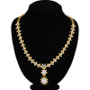 Sukkhi Classy Floral Gold Plated Necklace Set for Women