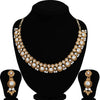 Sukkhi Glamorous Mehandi Gold Plated Choker Necklace Set for Women