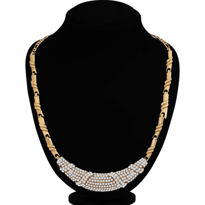 Sukkhi Equisite Mehandi Gold Plated Necklace Set for Women
