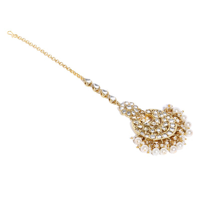 Sukkhi Astonish Kundan Gold Plated Choker Neckalce Set for Women