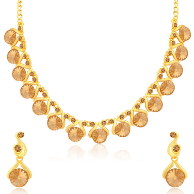 Sukkhi Luxurious LCT Gold Plated Necklace Set for Women