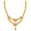 Sukkhi Glittery LCT Gold Plated Necklace Set for Women