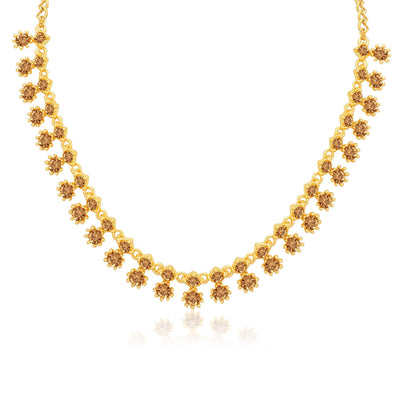 Sukkhi Traditional LCT Gold Plated Necklace Set for Women