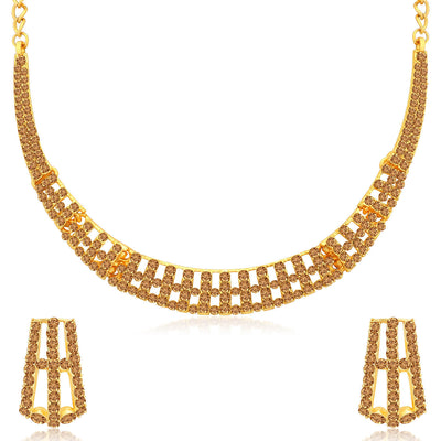 Sukkhi Modern LCT Gold Plated Necklace Set for Women