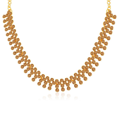 Sukkhi Modish LCT Gold Plated Necklace Set for Women