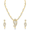 Sukkhi Ritzy Gold Plated Floral Necklace Set For Women