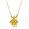 Sukkhi Marquise Gold Plated Colourful Collar Necklace Set for Women