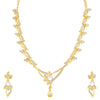 Sukkhi Lavish Gold Plated Floral Necklace Set For Women
