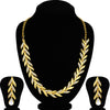 Sukkhi Trendy Gold Plated Leafy Necklace Set For Women