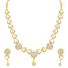 Sukkhi Blossomy Gold Plated Floral Necklace Set For Women