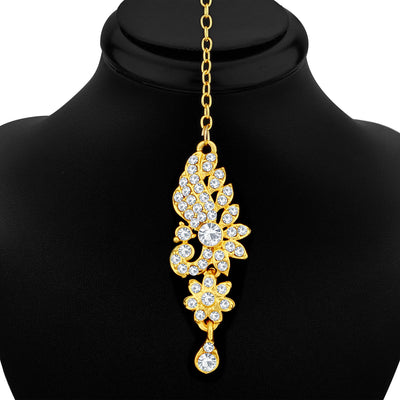 Sukkhi Glorious Gold Plated Peacock Necklace Set For Women