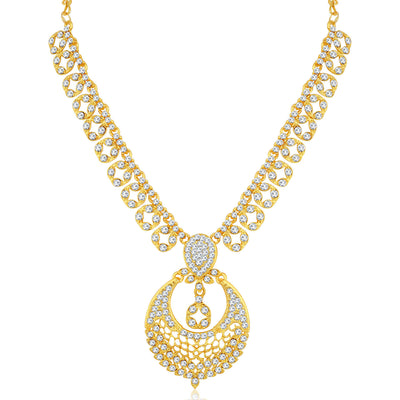 Sukkhi Beautiful Gold Plated Necklace Set for Women
