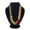 Sukkhi Elegant Collar Gold Plated Necklace Set Set for Women