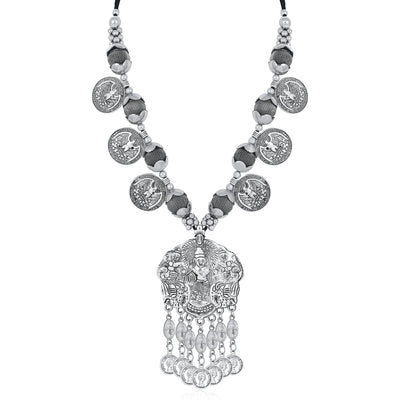 Sukkhi Incredible Collar Oxidised Necklace Set for Women