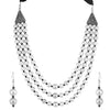 Sukkhi Amazing Oxidised Multi-String Necklace Set For Women