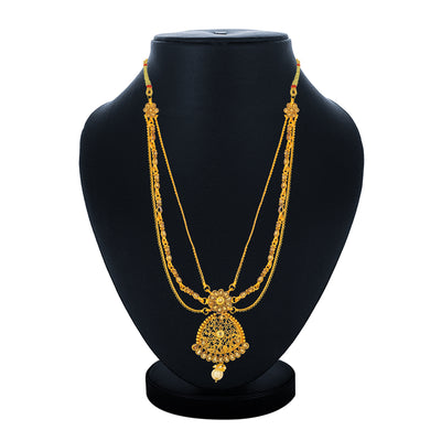Sukkhi Fabulous Collar Gold Plated Necklace for Women
