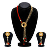 Sukkhi Graceful Collar Gold Plated Necklace Set Set for Women