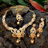 Sukkhi Elegant Gold Plated Pearl Collar Necklace Set For Women
