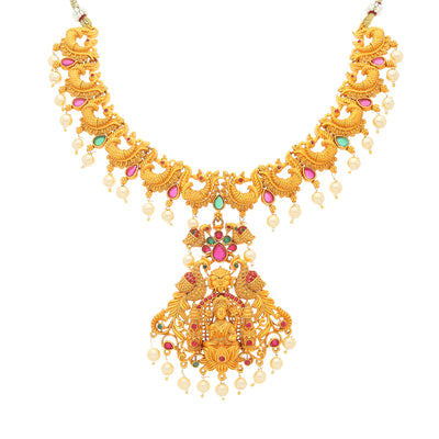 Sukkhi Tibale Gold Plated Necklace Set for Women