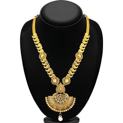 Sukkhi Attractive Gold Plated Necklace Set For Women