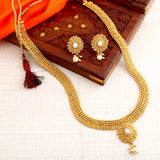 0019 Sukkhi Stunning Jalebi Gold Plated Necklace Set For Women