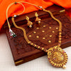Sukkhi Exotic Elephant Inspired Gold Plated Necklace Set for Women