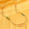Sukkhi Modern String Gold Plated Necklace Set for Women