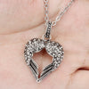 Sukkhi Appealing Valentine Heart Rhodium Plated Pendant for Women