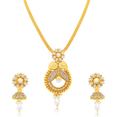 Sukkhi Charming Gold Plated Pendant Set For Women