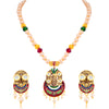 Sukkhi Modern Meenakari Art Work Pearl Mala Set for Women
