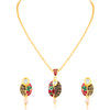 Sukkhi Attractive Gold Plated Pendant Set for Women