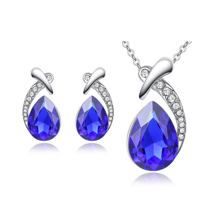 Sukkhi Graceful Rhodium Plated Pendant Set for Women