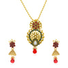 Sukkhi Ritzy Gold Plated Pendant Set for Women