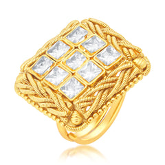Sukkhi Excellent Gold Plated Ring For Women