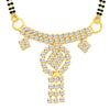 ShoStopper Pleasing Gold Plated Austrian Diamond Mangalsutra Pendant