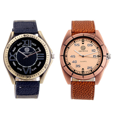 Shostopper Vintage Collection Combo Watches for Mens SJ161WCB