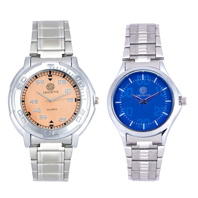 Shostopper Vintage Collection Combo Watches for Mens SJ167WCB