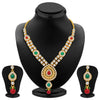 ShoStopper Royal Gold Plated Austrian Diamond Necklace Set