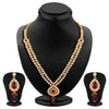 ShoStopper Divine Gold Plated Austrian Diamond Necklace Set