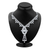 ShoStopper Enchanting Rhodium Plated Austrian Diamond Necklace Set-1