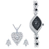 Shostopper Vintage Collection Combo Of Pendant Set & Watch SJ238CB