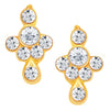 ShoStopper Classy Gold Plated Austrian Diamond Pendant Set-2